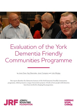 Evaluation of the York Dementia Friendly Communities Programme